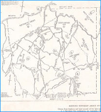 Bedford Township about 1725