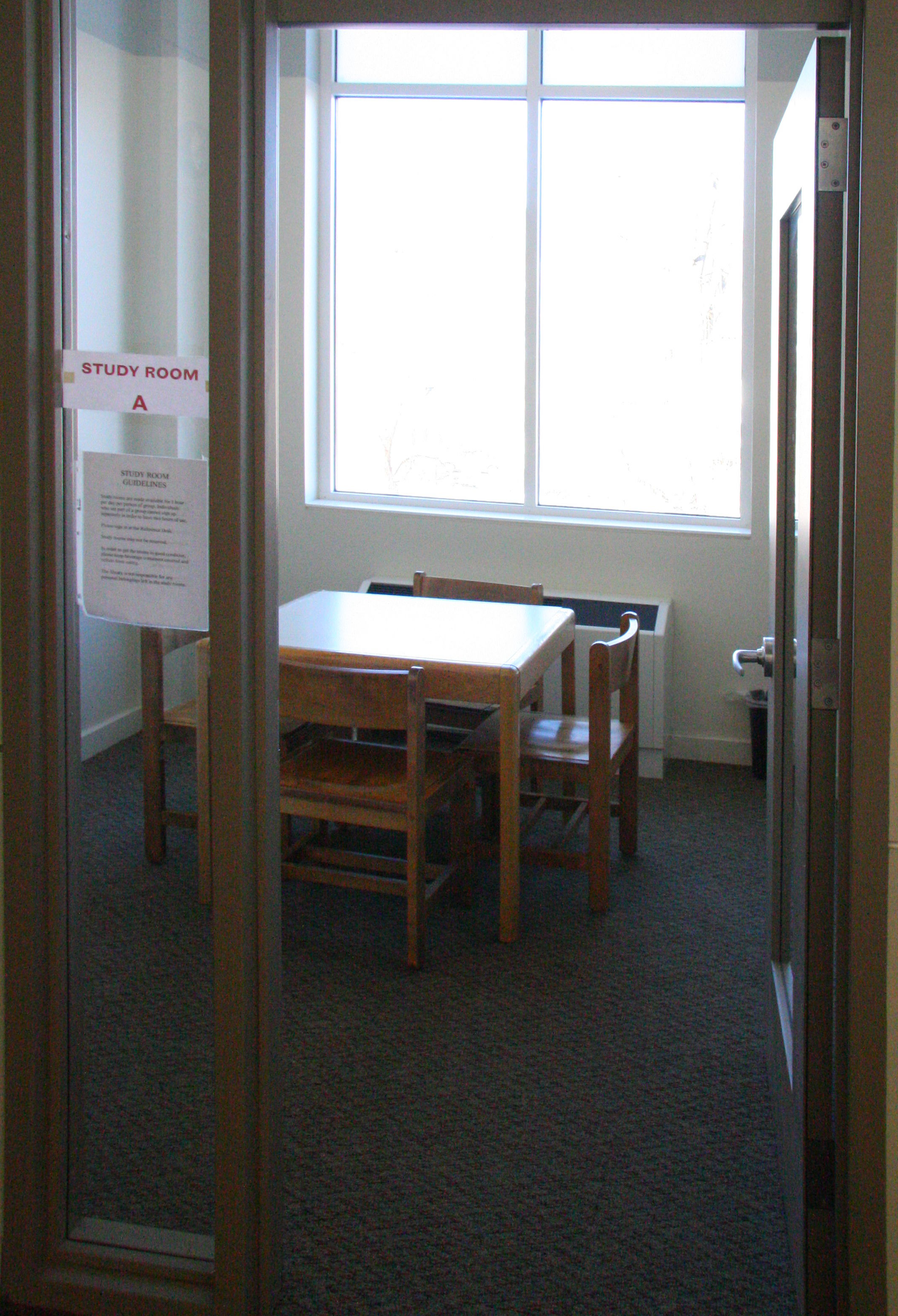 The Mount Kisco Public Library Study Room